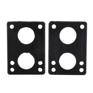 "2pcs 0.24""/6mm Soft Skateboard Riser Shock Pads Longboard Shock pads Supplies"