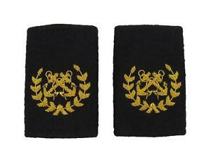 Bosun-Epaulette-Crossed-Anchors-with-Wreath-Embroidered-Gold-Bullion-Black-Felt