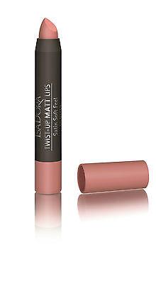 IsaDora Twist-Up Matte Lipstick - Velvet Matte Finish - Intense and Long Lasting