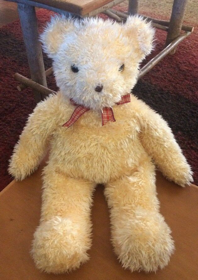 Ty Classic Large Shaggington Bear From  2001 25