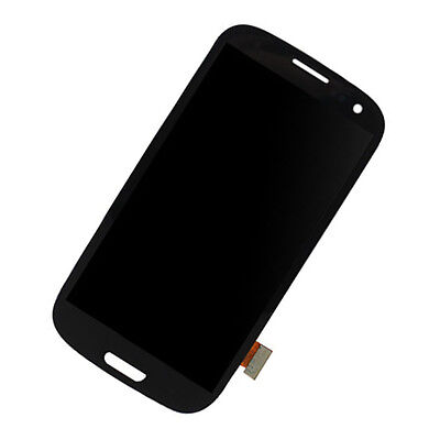 Black For Samsung Galaxy S3 I9300 LCD Touch Screen Digitizer Complete Assembly