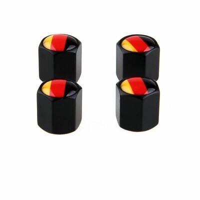 4Pcs//Set Car Wheel Airtight Tire Stem Valve Caps British National Flag Type