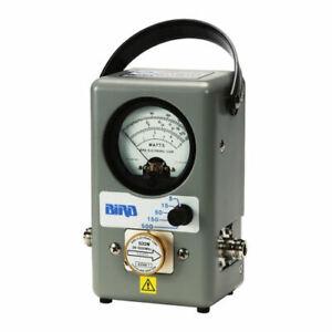 Bird-4304A-SWR-Power-Meter-25-1000-MHz-Power-500-Watts-No-Elements-Required