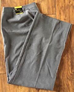 STUDIO-1940-Women-s-Gray-Dress-Pants-Fit-right-size-2-16-NWT-S-Melissa-Stretch