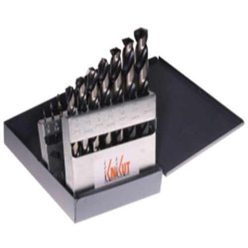 KnKut 15KK5 15 PIece Fractional Jobber Length Drill Bit Set
