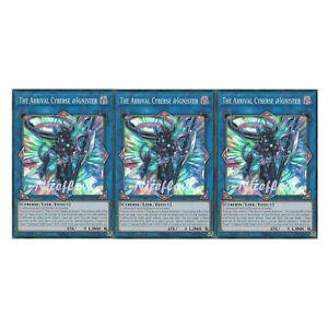 Yu Gi Oh The Arrival Cyberse Ignister Etco En050 Super Rare 3x Eternity Ebay
