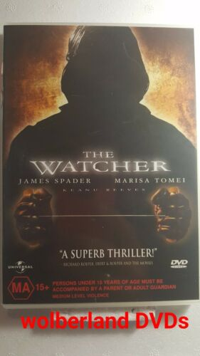 1 of 1 - The Watcher [ DVD ] Region 4, FREE Next Day