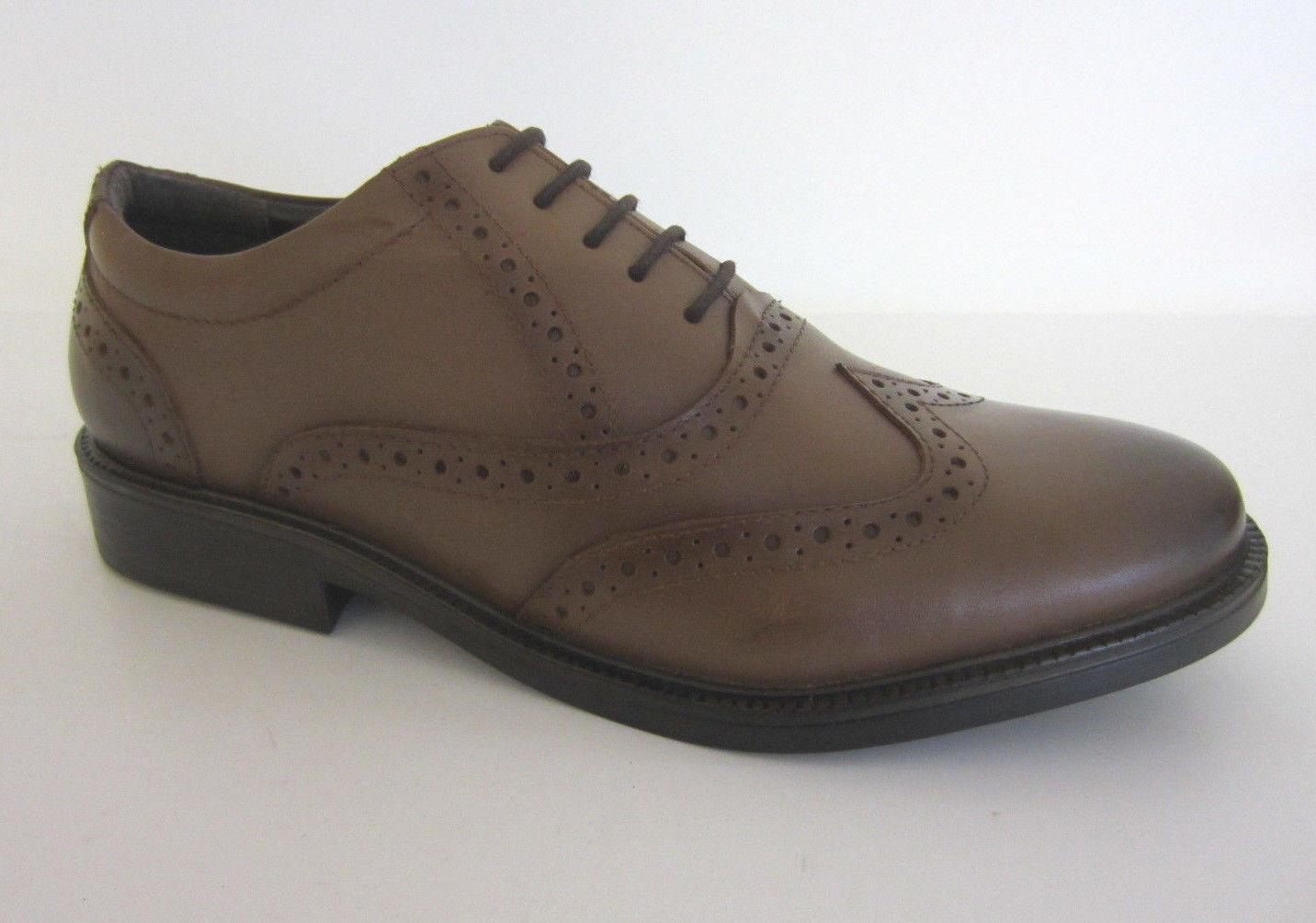 Hush color Puppies Acento De Rockford Zapatos piel color Hush canela tamaños 6-11 (r11b) 11980c
