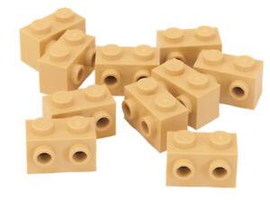 10 x LEGO® 11211 Systemsteine,Konverter 1x2 beige,tan,sandfarben Neuware.