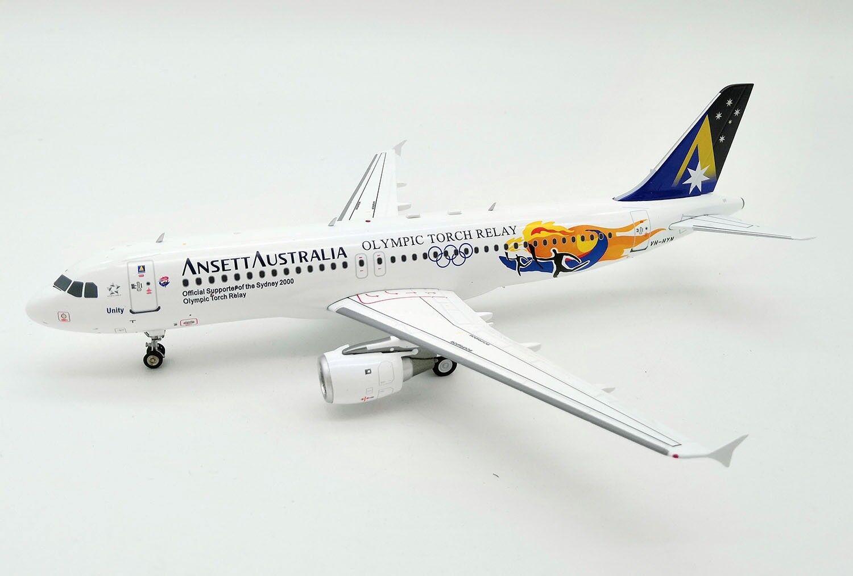 IF3201818B 1/200 Ansett Australia Airlines A320-200 VH-Hyn Relé de antorcha olímpica