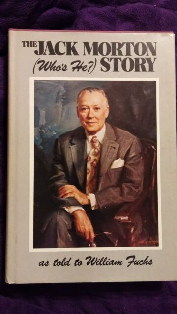 The Jack Morton (Who's He?) Story 1985 First Edition HCDJ SIGNED with extras