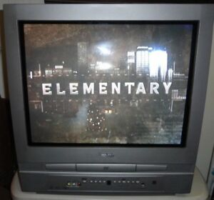 Symphonic 20 Silver Crt Tv Built In Dvd Player Combo Wf20d4