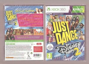 JUST-DANCE-DISNEY-PARTY-2-Indispensable-sur-XBOX-360-KINECT-NEUF-Blister