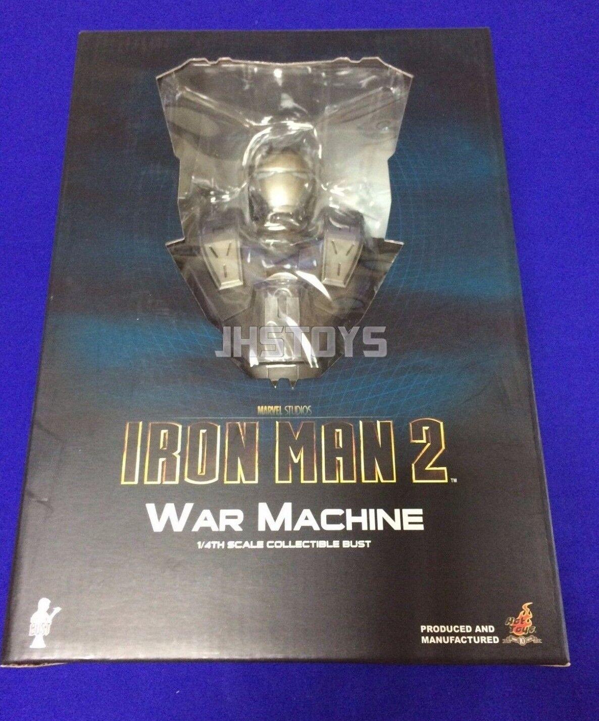 Hot Toys 14 Busto Iron Man 2 HTB07 máquina de guerra