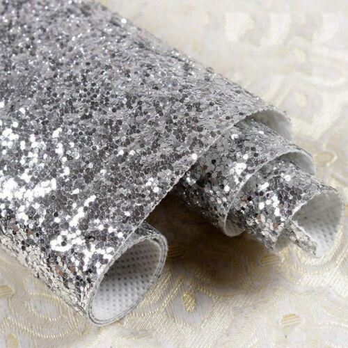 Chunky Glitter Fabric Wallpaper Heavy Wall Paper Glitterbug Glam Glitterwall