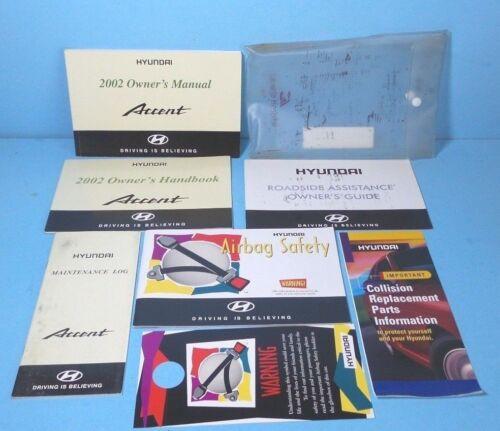 02 2002 Hyundai Accent owners manual