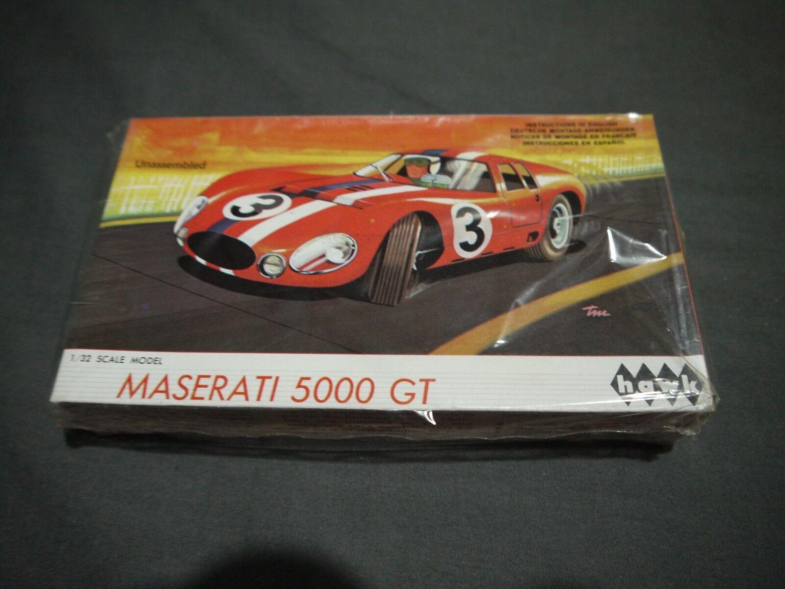 RARE HAWK MASERATI 5000 GT (1965) MODEL NO 4 MODEL KIT