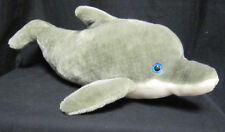 "Seaworld 21"" plush bottle nose dolphin   - free shipping"