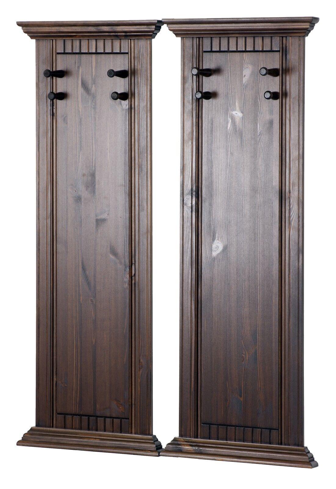Garderobenpaneel im 2er Set Garderobe Wandgarderobe | Online-Exportgeschäft