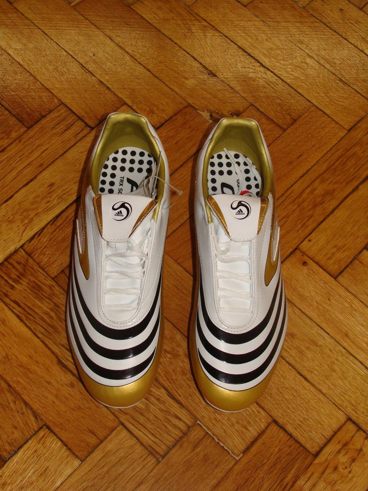 botas De Fútbol Fútbol Fútbol Adidas F10.8 F 10 Fútbol Zapatos terreno blando oro Nuevo 5d2a5b
