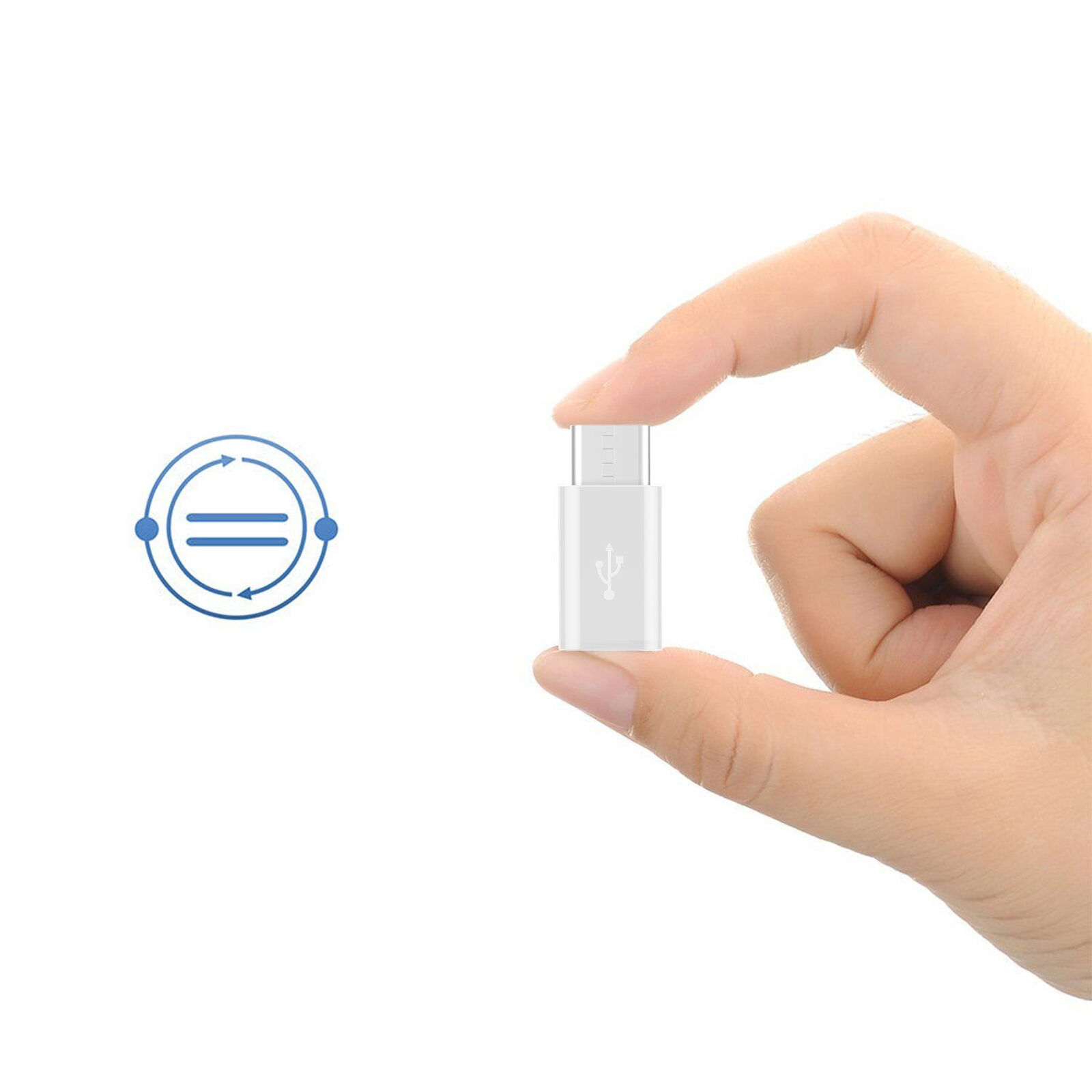 USA 5pack USB-C Type-C to Micro USB Data Charging Adapter For Samsung Galaxy S8