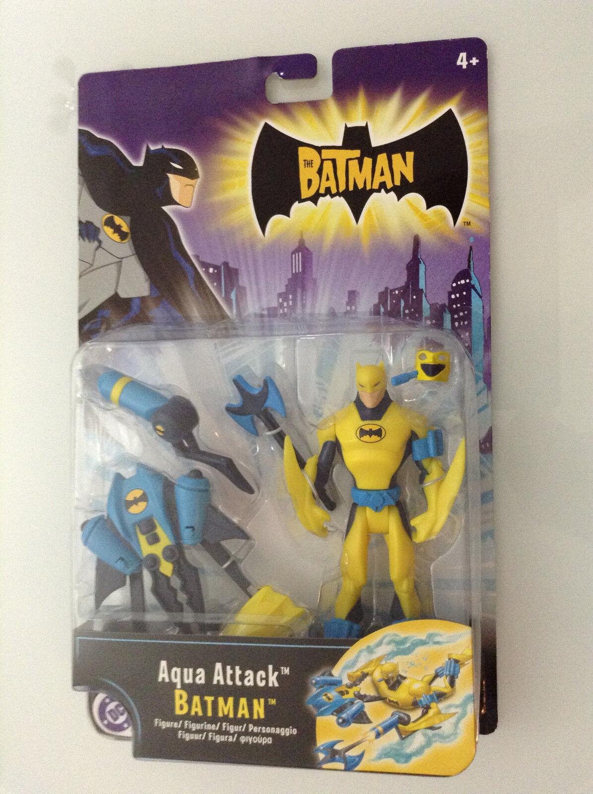 THE BATMAN AQUA ATTACK 2005 FIGURE DC MATTEL ANIMATED SERIES EUROPEAN ED DC NEW
