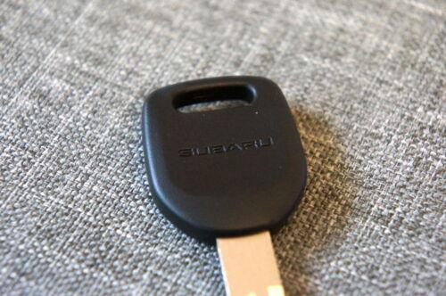 OEM Subaru Blank KEY Plate for Impreza and Forester GENUINE also fits WRX STi