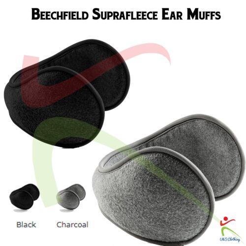 Beechfield NEW Suprafleece™ Men/'s Polyester Unisex Fold Away Padded Ear Muff