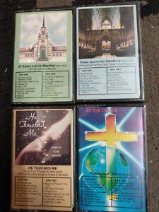 Vintage-Tape-Cassette-Praise-Worship-Music-Silver-Bells-Records-1980s