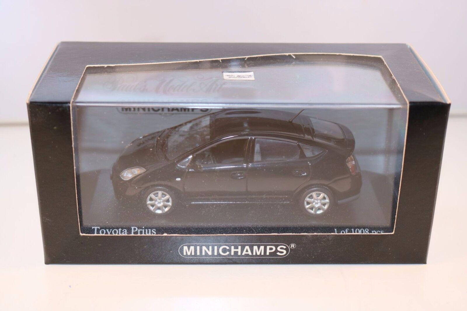 Minichamps Toyota Prius Onyxnero 1 43 perfect mint in box