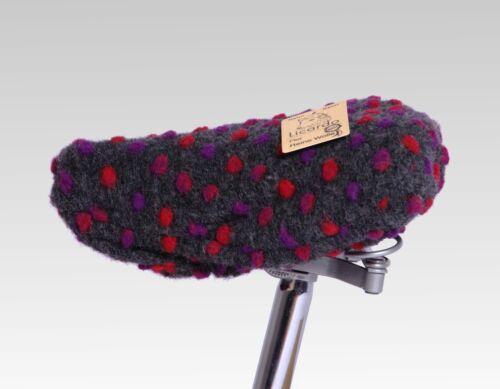 Fahrradsattelbezug Wolle mit Noppen Muster 20//30 cm in Verschiedenen Farben