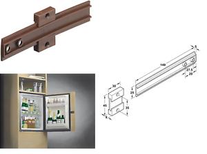 Integrated-Fridge-Door-Cabinet-Kitchen-Appliance-Slide-Fixing-Screws
