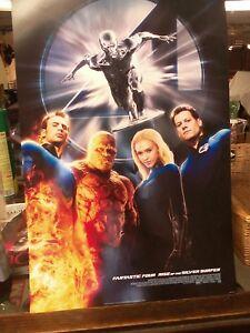 Fantastic-Four-Rise-of-the-Silver-Surfer-mini-movie-poster-13-034-x20-034-Jessica-Alba