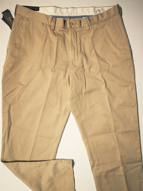 Ralph Lauren Polo Mens Relaxed-Fit Suffield Cotton Chino Pants Hudson Tan
