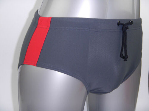 Men Swim Brief Swimsuit Swimwear Bathing Suit Costume Slip Gray Grey S M L XXXL