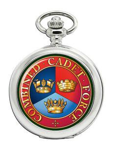 Kombinierte-Cadet-Force-Ccf-Taschenuhr
