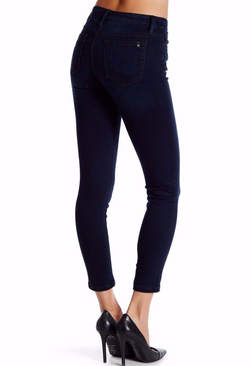 Nwt JOE´S Damen Sz26 Symbol Skinny Knöchel Midrise Jeans Stretch Rhys