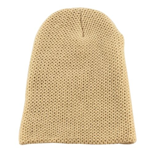 Double Layer Knit Slouchy Beanie Winter Warm Ski Skater Hip-hop Hat Mens Womens