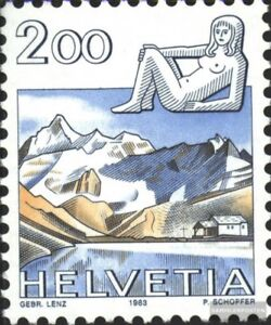 Schweiz-1264-kompl-Ausg-gestempelt-1983-Tierkreiszeichen