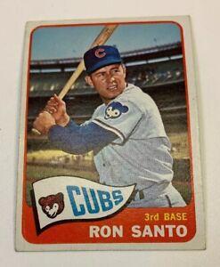 1965-Topps-110-Ron-Santo-Baseball-Card-Chicago-Cubs-HOF