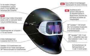 Baugewerbe Arbeitskleidung & -schutz Speedglas 100 3m Black Schweisshelm Schweißhelm Schweißmaske Din 8-12 751120