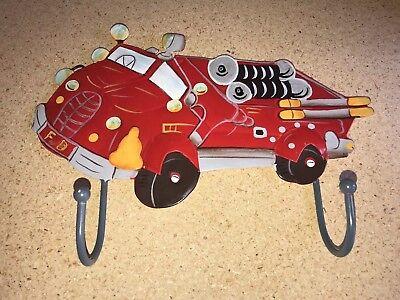 Bedroom Bathroom Fire Engine Truck