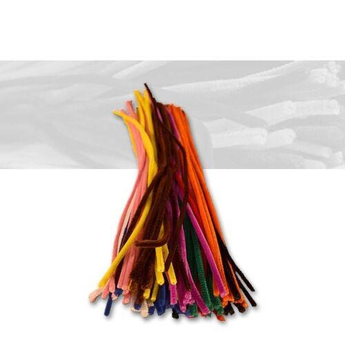0,06 €//unidad pfeifenputzer multicolor ordena paquete de 100er 6 mm x 50 cm