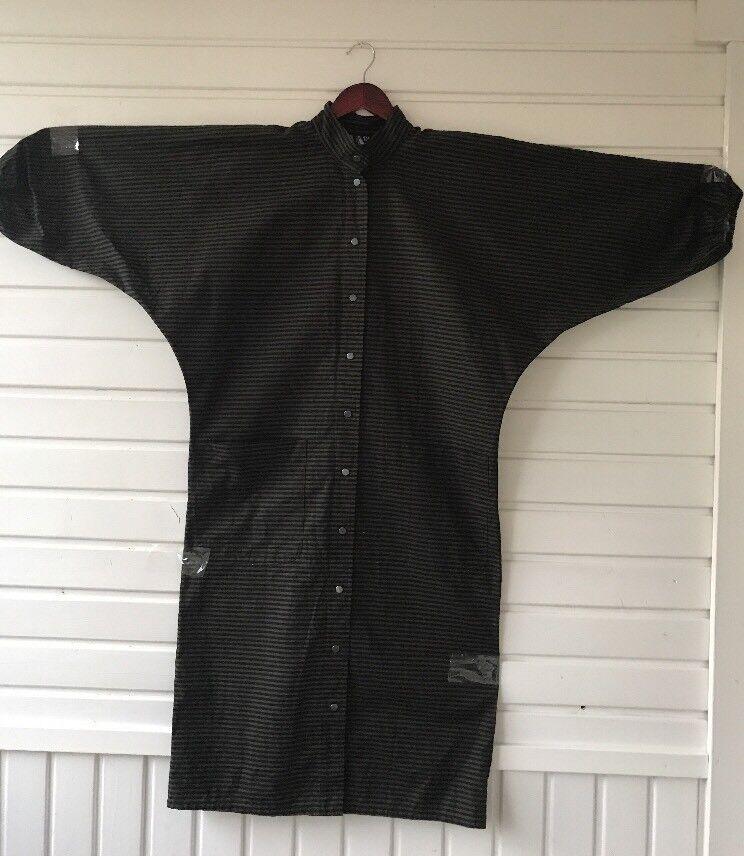 Sale  Rare Vintage Boxy Dress By Vuokko Nurmesniemi Size XS Crisp Cotton