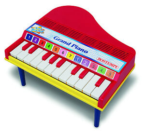GRAND-PIANO-PG1210-N-A-Classic-Toy-12-Keys-BONTEMPI-Kid-039-s-Instrument-3