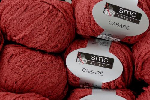 04222 ladrillo rojo suéter chaqueta 650 g cabare SMC select Schachenmayr lana FB