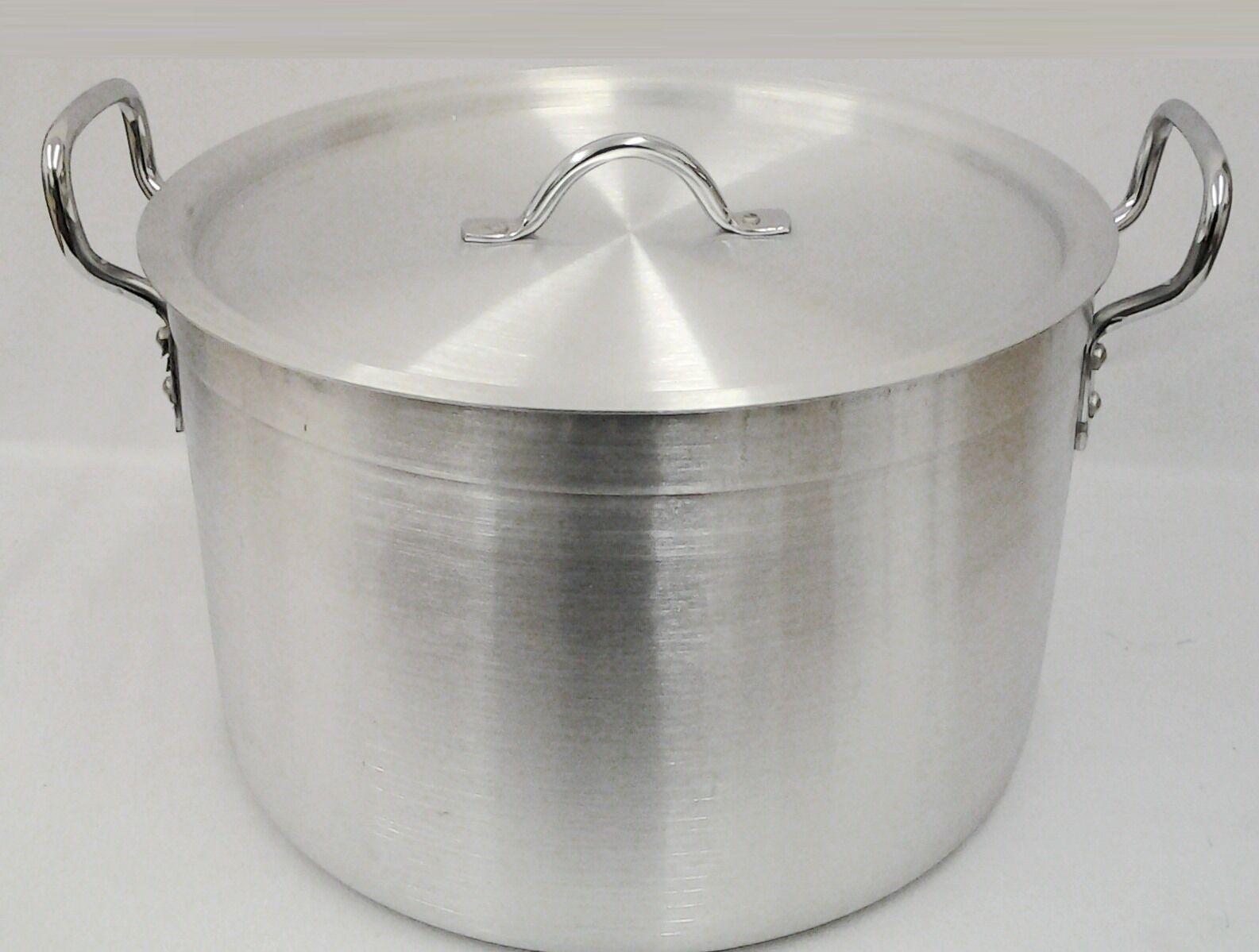 Heavy duty casserole aluminium casserole pan couvercle catering-de sol