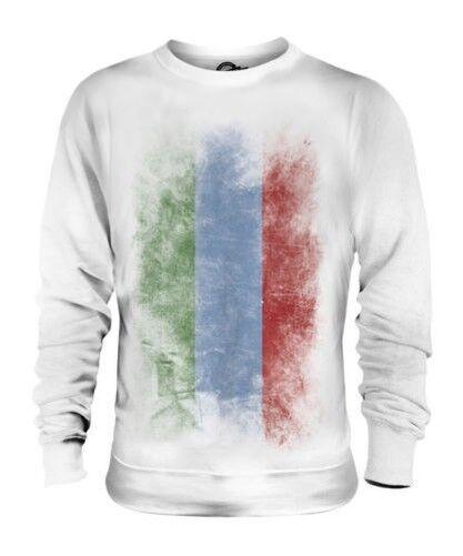 Dagestan Verblichen Flag Unisex Pullover Top Fußball Geschenk Kleidung Jersey