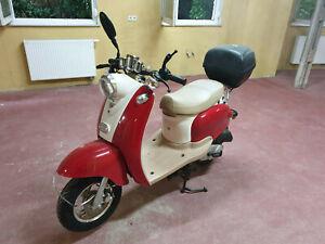 nova motors retro star motorroller mofa motorrad roller yy50 qt 15 ebay. Black Bedroom Furniture Sets. Home Design Ideas