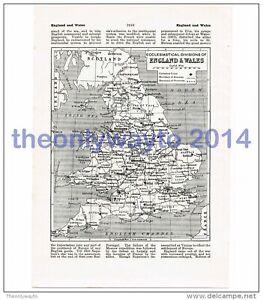 England-and-Wales-Eccesiastical-Divisions-Book-Map-Illustration-Print-John